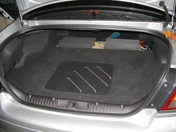 Protecting subwoofers in the trunk